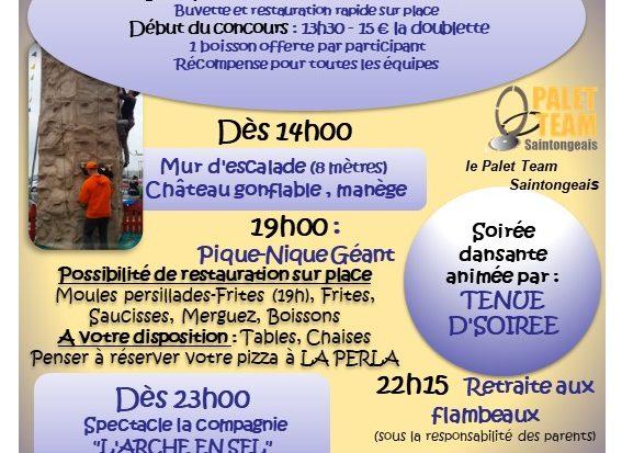 Festivités du 10 juillet à Montroy !